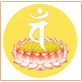 白色梵文種子字梵-咒語-Mantra