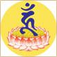藍色吽梵文種子字-宗教-Buddhist